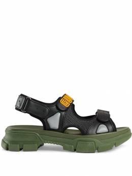 Gucci сандалии с сетчатыми вставками 546064DIR10