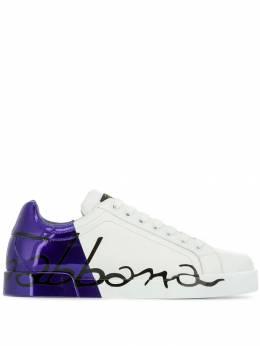 Dolce&Gabbana кроссовки Portofino CS1600AU776
