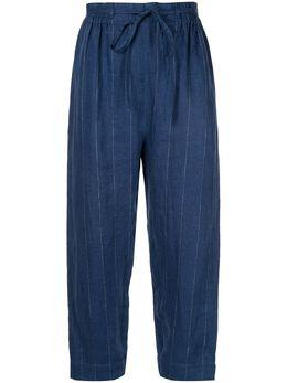 Karen Walker брюки прямого кроя Beck 583202