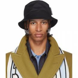 Burberry Black Twill Bucket Hat 8020318