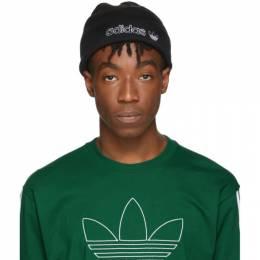 Adidas Originals Black Ori Forum Outline Beanie 192751M13800201GB