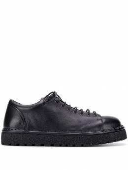 Marsell туфли с закругленным носком на шнуровке MWG350P150666