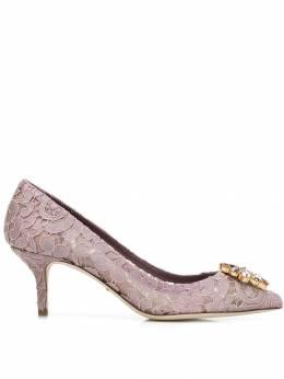 Dolce&Gabbana кружевные туфли-лодочки Bellucci CD0066AL198