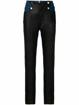 Each X Other джинсы с кожаными вставками FW18G16081
