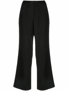Yohji Yamamoto укороченные брюки прямого кроя FCP01100