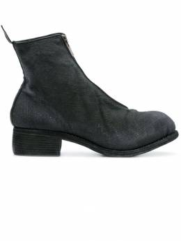 Guidi front zip ankle boots PL1