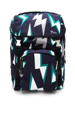 Рюкзак с графичным узором Prada 40150654