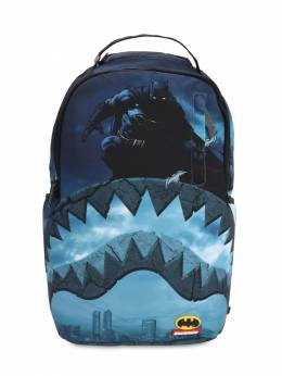 Batman Shark Printed Canvas Backpack Sprayground 70IOEN017-TVVMVElDT0xPUg2