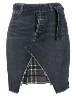 Unravel Project джинсовая юбка Hybrid UWYF018F19DEN0021106