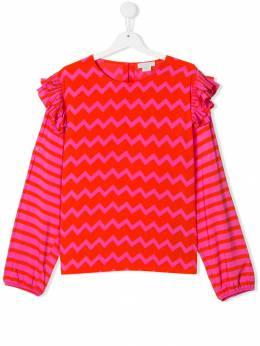 Stella McCartney Kids блузка с принтом 566902SNKA1