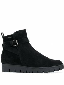 Hogl buckled flat boots 41112270100