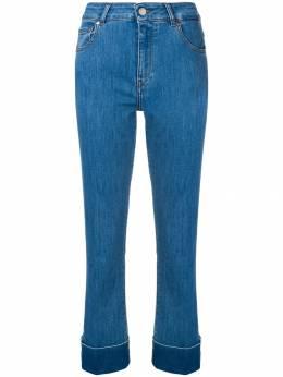 Fay джинсы кроя слим с подвернутыми манжетами NTW8238501LE11