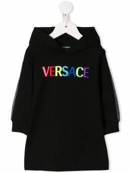 Young Versace - платье-свитер с вышивкой 66659YA66633YA668955