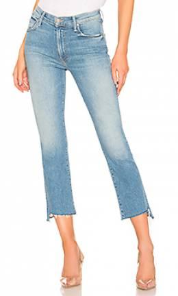 Обрезанные рваные джинсы insider crop - Mother 1157 470 SRL