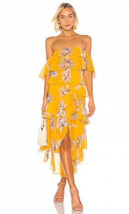 Платье миди dalila - Misa Los Angeles YEDL6831