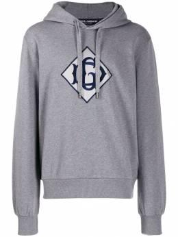 Dolce&Gabbana худи с нашивкой-логотипом G9OF9ZG7TWG