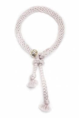 Белый плетеный браслет Kumihimo U Jewels 1796151685