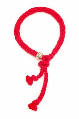 Ярко-красный браслет Kumihimo U Jewels 1796151687