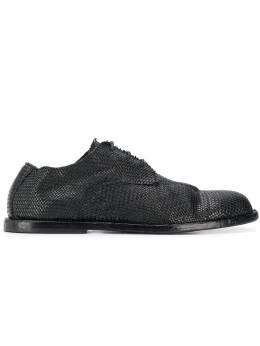 Ann Demeulemeester туфли на шнуровке и плоской подошве 19014217385