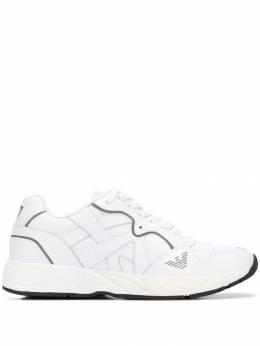 Emporio Armani структурированные кроссовки X4X265XL777