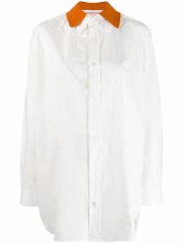Plan C поплиновая рубашка CMCAA04BM0TC001