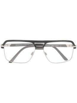 Cazal очки в геометричной оправе 7075