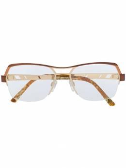 Cazal очки с прозрачными стеклами 1240