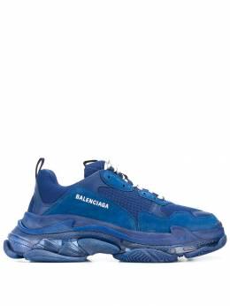 Balenciaga кроссовки Triple S на прозрачной подошве 541624W09O1