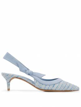 Alexandre Birman фактурные туфли-лодочки B3505801000004