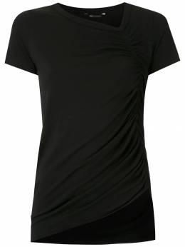 Uma | Raquel Davidowicz блузка Chapel со сборками TOPCHAPEL02SS20