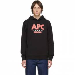 A.P.C. Black Benito Hoodie CODCY-H27542