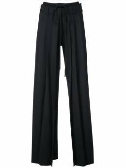 Vera Wang брюки строгого кроя со складками R419P21
