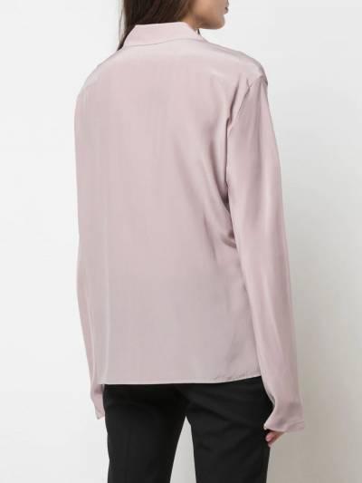 Haider Ackermann - рубашка с драпировкой 6660966K955558590000 - 4
