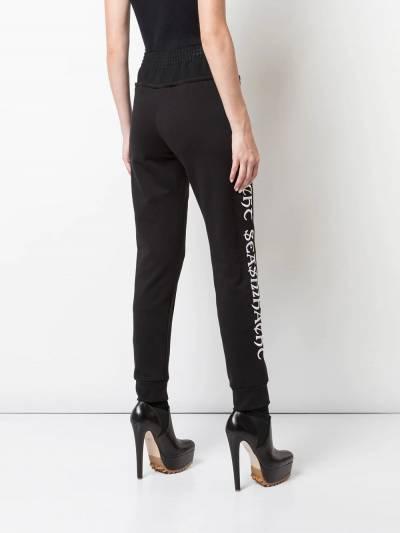 Vera Wang - спортивные брюки с вышивкой 9P999556695900000000 - 4