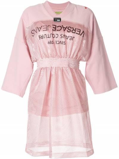 Versace Jeans Couture - платье с сетчатыми вставками TB560658309508639500 - 1