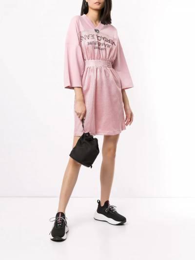 Versace Jeans Couture - платье с сетчатыми вставками TB560658309508639500 - 2