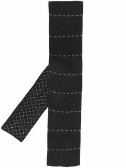 Hermes шарф 2000-х годов с вышивкой pre-owned HERME180BL