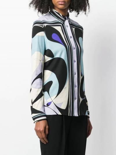 Emilio Pucci - рубашка на пуговицах Alex с принтом J969U356939690690000 - 3