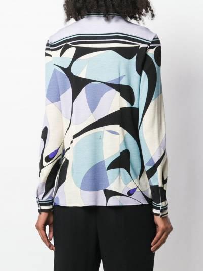 Emilio Pucci - рубашка на пуговицах Alex с принтом J969U356939690690000 - 4