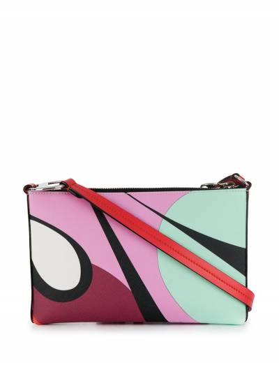 Emilio Pucci сумка-конверт Alex с принтом 9USD559U120 - 1