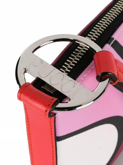 Emilio Pucci сумка-конверт Alex с принтом 9USD559U120 - 4
