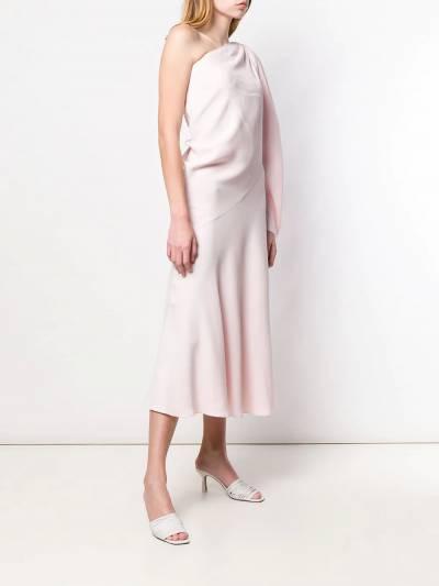 Esteban Cortazar - платье на одно плечо 90936630930000000000 - 3