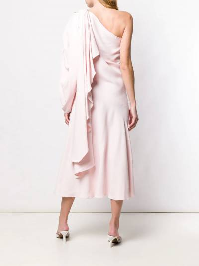 Esteban Cortazar - платье на одно плечо 90936630930000000000 - 4