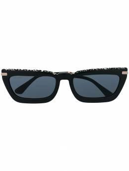 Jimmy Choo Eyewear солнцезащитные очки в прямоугольной оправе VELAGS55FP3IR