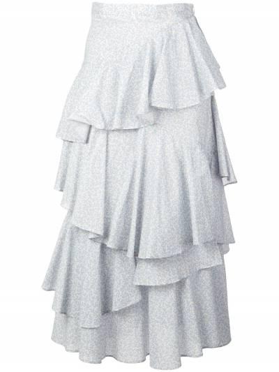 Alexa Chung - ярусная юбка с оборками 6CO03395555893000000 - 1