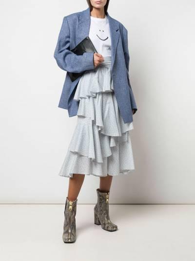 Alexa Chung - ярусная юбка с оборками 6CO03395555893000000 - 2