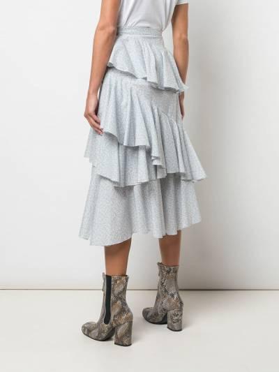 Alexa Chung - ярусная юбка с оборками 6CO03395555893000000 - 4