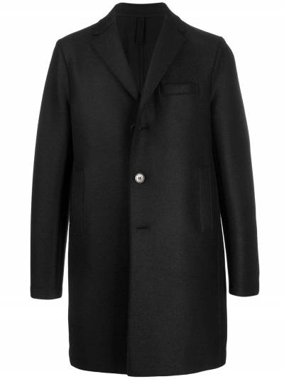 Harris Wharf London однобортное пальто миди C9101MLK - 1