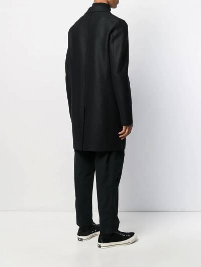 Harris Wharf London однобортное пальто миди C9101MLK - 4