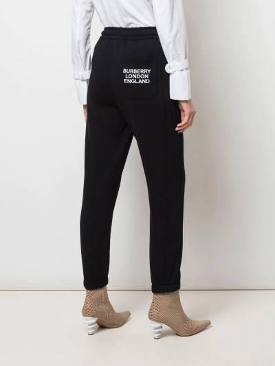 Burberry - спортивные брюки с вышитым логотипом 99999555636900000000 - 4
